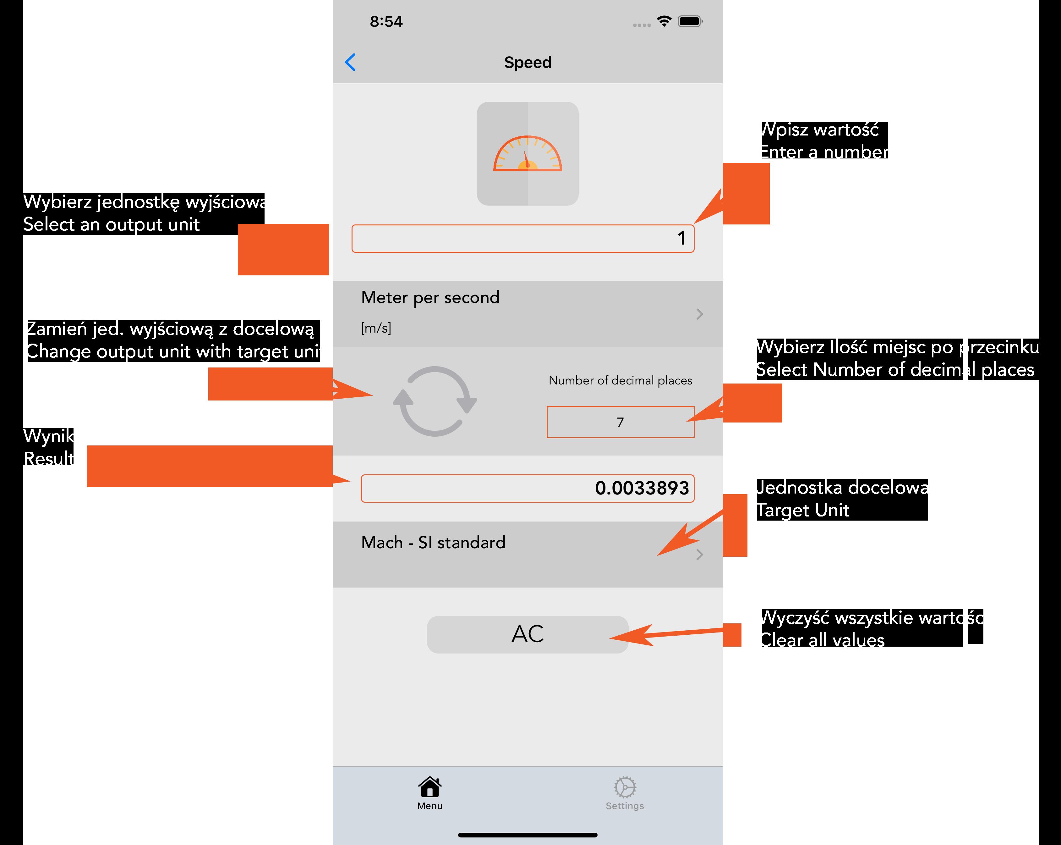 Unit Converter iOS